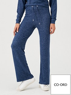 v-by-very-snit-flare-trouser-co-ord-navy