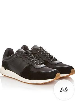 allsaints-milford-runner-trainers-black