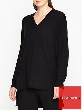 gestuz-thelma-oversized-jumper-black