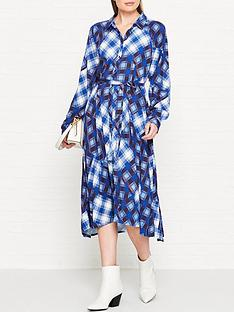 gestuz-luanne-check-shirt-dress-blue