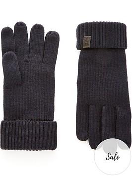 allsaints-merino-wool-ribbed-gloves-navy