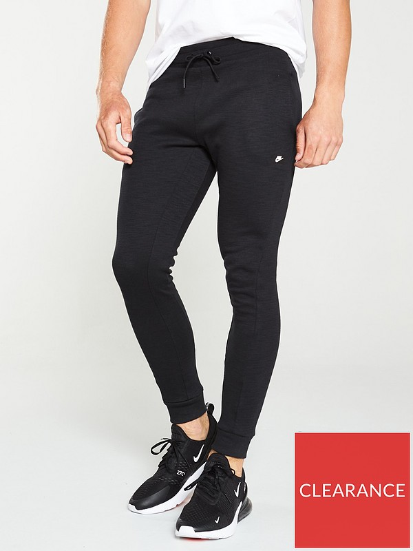 Guante Debilitar Señora  Nike Sportswear Optic Joggers - Black | very.co.uk