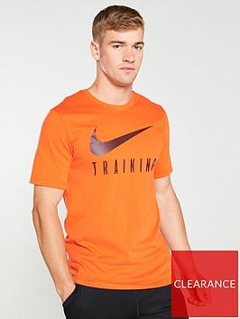 nike-dry-train-tee-orange