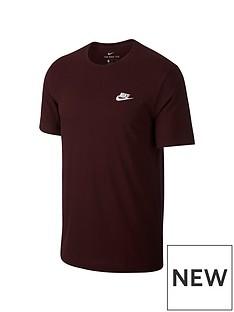 nike-sportswear-club-t-shirt-maroon