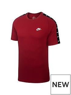 nike-sportswear-swoosh-2-tape-t-shirt-red