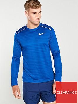 nike-dry-miler-running-long-sleeve-shirt-blue