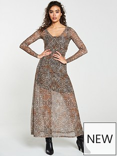 v-by-very-leopard-v-neck-mesh-maxi-dress-animal-print