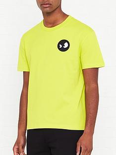 mcq-alexander-mcqueen-monster-logo-patch-t-shirt-lime-green