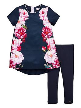 baker-by-ted-baker-girls-placement-tunic-and-legging-set-navy