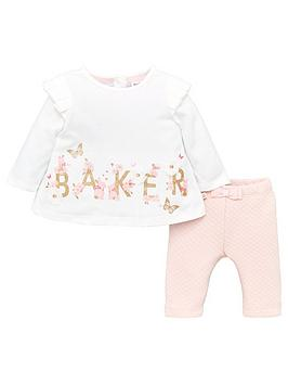 baker-by-ted-baker-baby-girls-top-and-trousers-set-white