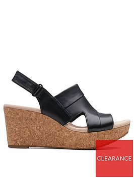 clarks-annadel-ivory-leather-wedge-sandals-black