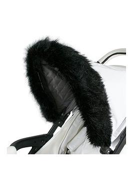 My Babiie My Babiie Luxurious Faux Fur Pram Hood Trim