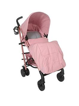 my-babiie-katie-piper-mb51-rose-gold-pink-amp-grey-stroller