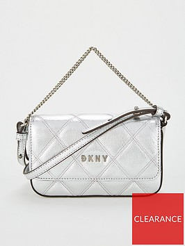 dkny-sofia-demi-chain-cross-bodynbsp--silver