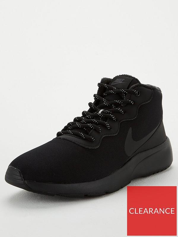 Complimento Denso sono assonnato  Nike Tanjun Chukka - Black | very.co.uk