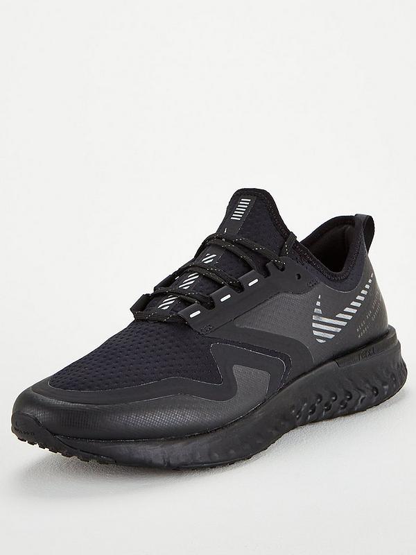 Cadena sombra capacidad  Nike Odyssey React 2 Shield - Black | very.co.uk