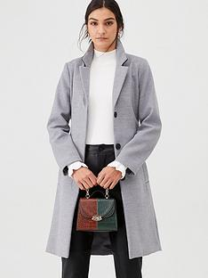 warehouse-clean-longline-belted-coat-grey
