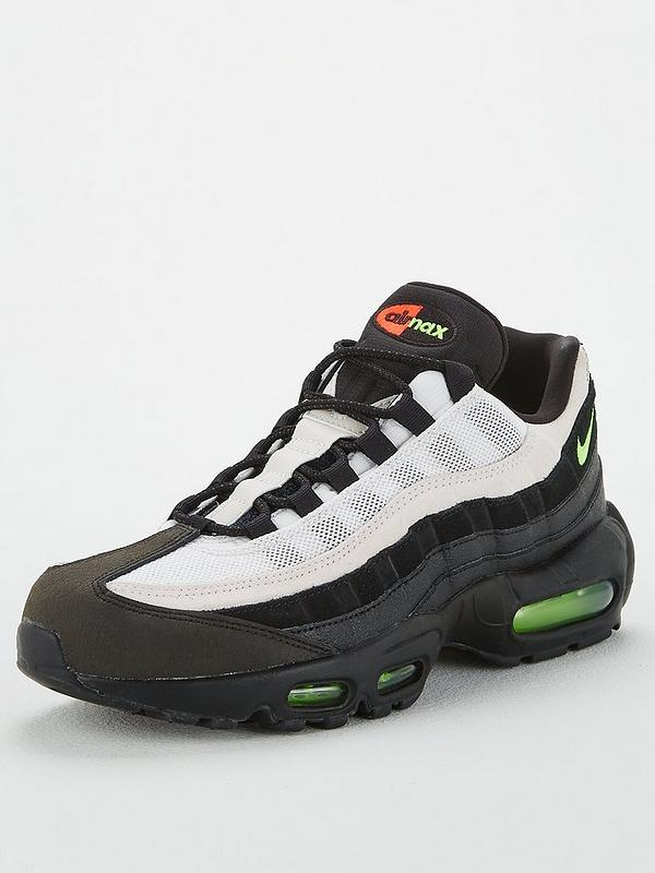 outlet boutique limited guantity classic shoes Air Max 95 Essential - Black/Green