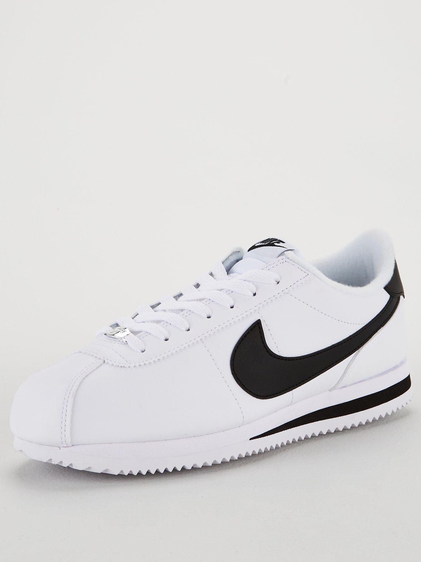 Nike Cortez Basic Leather - White/Black