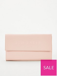 ted-baker-giliani-deboss-branded-travel-wallet-dusky-pink