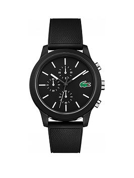 lacoste-lacoste-1212-black-and-white-detail-multi-dial-black-silicone-strap-mens-watch