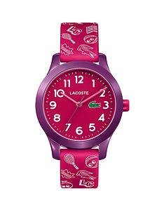 lacoste-lacoste-pink-and-purple-dial-pink-and-white-print-silicone-strap-kids-watch