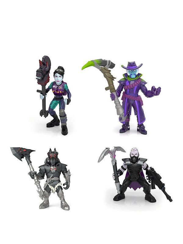 Fortnite Battle Royale Collection Squad Pack 4 Fortnite Battle Royale Collection Figures Deadfire Sanctum Spider Knight Dark Bomber