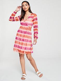 v-by-very-tie-dye-mesh-dress-multi
