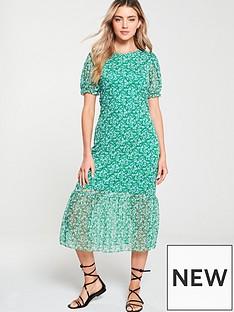 v-by-very-floral-mesh-midi-frill-dress