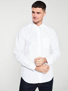 diesel-long-sleeved-poplin-shirt-white