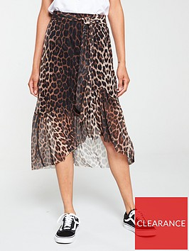 v-by-very-animal-mesh-midi-skirt-leopard