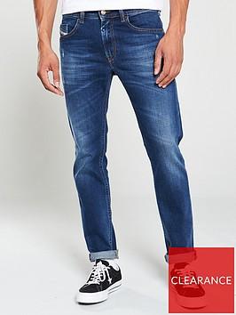 diesel-thommernbspslim-fit-jeans-dark-blue-vintage-wash