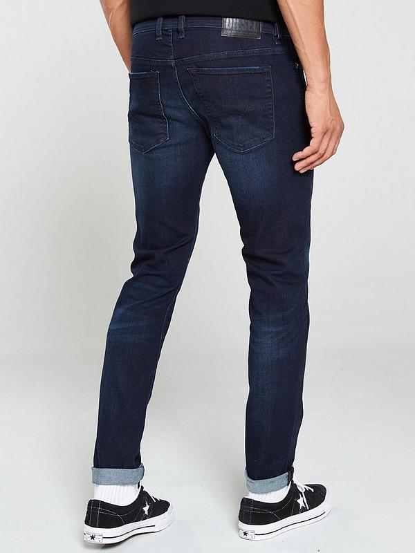 Luxus-Ästhetik Laufschuhe beste Wahl Sleenker-X Skinny Fit Jeans - Dark Blue
