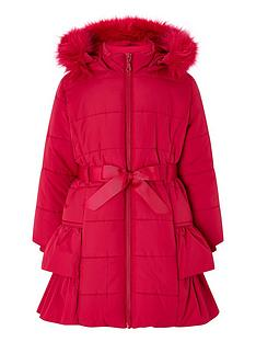 monsoon-girls-ruby-padded-hooded-coatnbsp--red