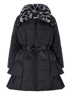monsoon-girls-lola-padded-hooded-coat-with-detachable-collarnbsp--black