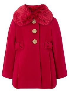 monsoon-baby-girls-bonnie-coat-with-detachable-faux-fur-collar-red