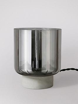 swoon-electra-table-lamp-ndash-concrete-and-smoked-glass