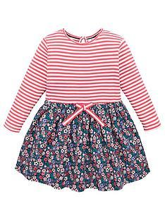 v-by-very-girls-2-in-1-striped-dress-navy