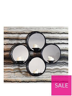arthouse-black-mirror-candle-holder-shelf