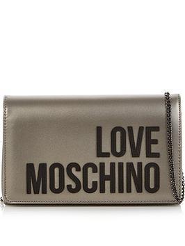 love-moschino-logo-metallicnbspcross-body-bag-silver