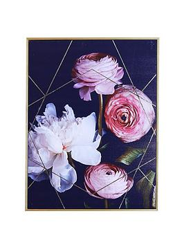 arthouse-dark-floral-capped-canvas-wall-art