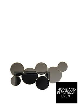 arthouse-asymmetric-circular-mirrors-wall-art