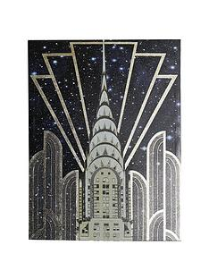 arthouse-gold-chrysler-gloss-canvas-with-foil-art-print
