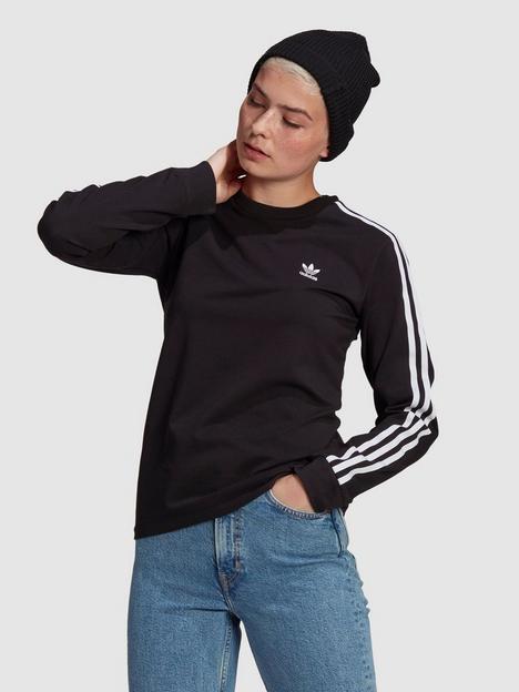 adidas-originals-3-stripe-ls-black