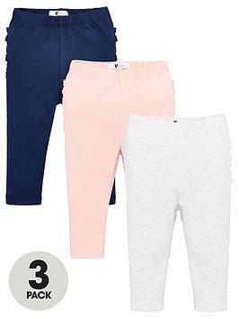 v-by-very-baby-girls-3-pack-ruffle-bottom-leggings-grey-marl