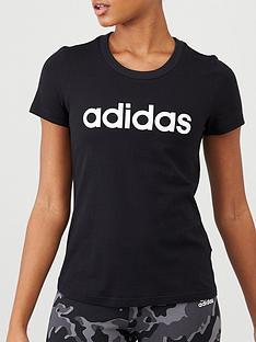 adidas-essentials-linear-slim-tee-black