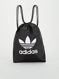 adidas-originals-trefoil-gym-sack-black