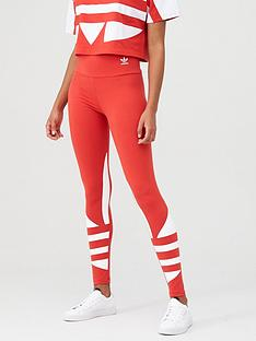 adidas-originals-lrg-logo-tight-rednbsp