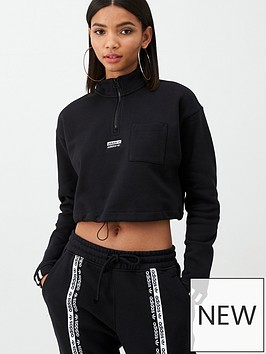 adidas-originals-cropped-sweat-black