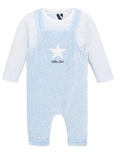 v-by-very-baby-boys-2-piece-super-soft-dungaree-outfit-blue